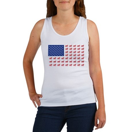 Patriotic Horse Women's Tank Top