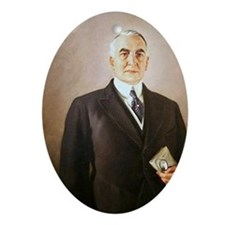 Warren G. Harding Christmas Ornament