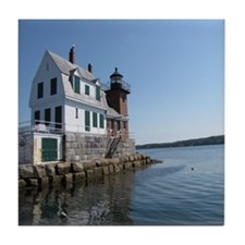 Rockland Breakwater Lighthouse Coaster