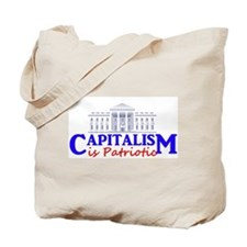 Capitalism is Patriotic Tote Bag