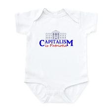 Capitalism is Patriotic Infant Bodysuit