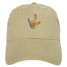 Rainbow I Love You Baseball Cap