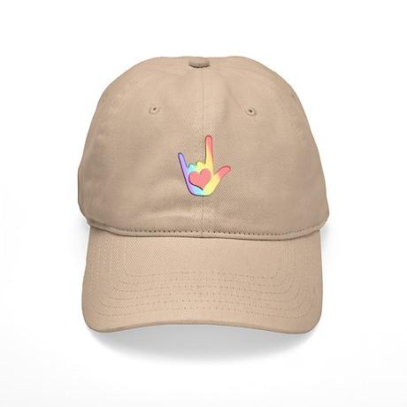 Rainbow I Love You Cap