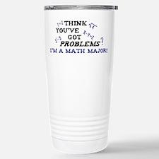 Funny Math Major Stainless Steel Travel Mug