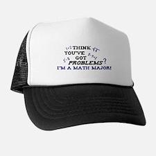 Funny Math Major Trucker Hat
