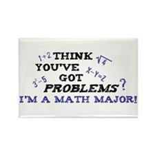 Funny Math Major Rectangle Magnet