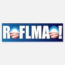 Obama ROFLMAO Bumper Bumper Stickers