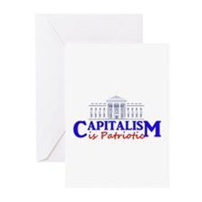 Capitalism is Patriotic Greeting Cards (Pk of 10)