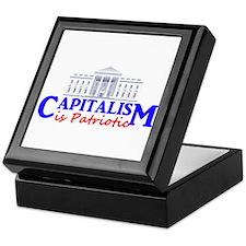 Capitalism is Patriotic Keepsake Box