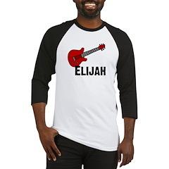 Guitar - Elijah Baseball Jersey