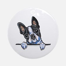 Curious Boston Ornament (Round)