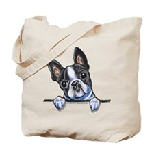Curious Boston Tote Bag