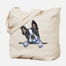 Curious Boston Tote Bag