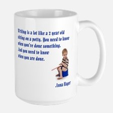 Anna's Salty Sayings Large Mug