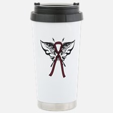 Tribal Butterfly Stainless Steel Travel Mug