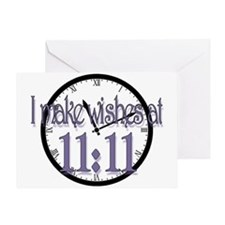 1111wish Greeting Cards