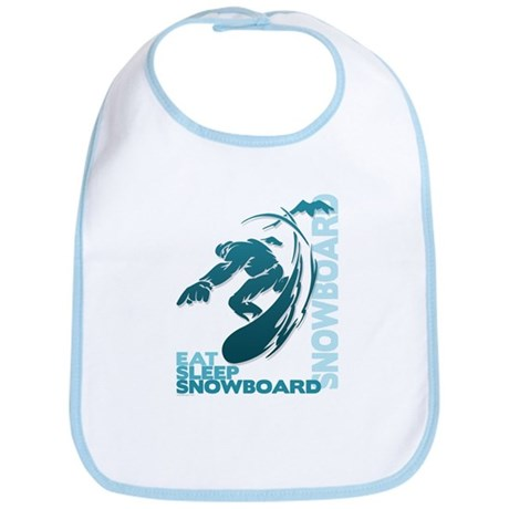Eat Sleep Snowboard Bib