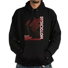 Eat Sleep Motocross Hoodie