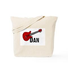 Guitar - Dan Tote Bag