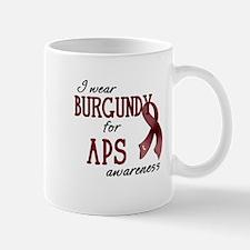 Wear Burgundy - APS Mug