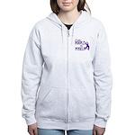 Wear Purple - Myself Women's Zip Hoodie