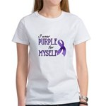 Wear Purple - Myself Women's T-Shirt
