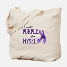 Wear Purple - Myself Tote Bag