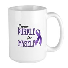 Wear Purple - Myself Mug