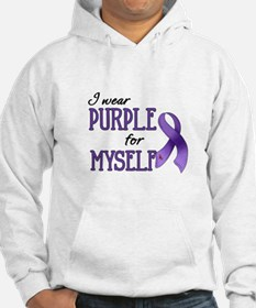 Wear Purple - Myself Hoodie