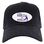 Wear Purple - Myself Black Cap