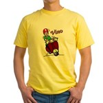 Motor Scooter Vino Yellow T-Shirt