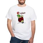 Motor Scooter Vino White T-Shirt