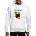 Motor Scooter Vino Hooded Sweatshirt