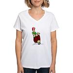 Motor Scooter Vino Women's V-Neck T-Shirt