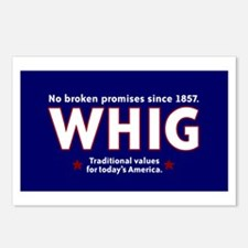 Whig Party Postcards (Package of 8)