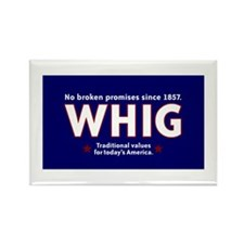 Whig Party Rectangle Magnet