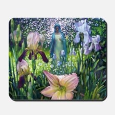 Lady of the Flowers Mousepad