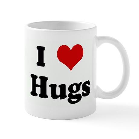 I Love Hugs Mug
