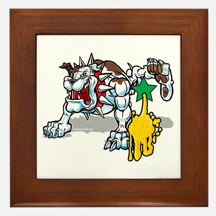 Cute Tinkle Framed Tile