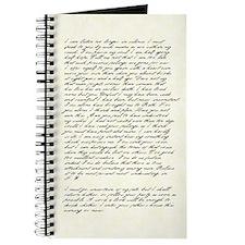 Jane Austen Persuasion Letter Journal