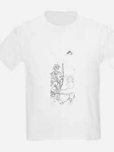 Before Battle Elves Kids T-Shirt