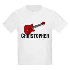 Guitar - Christopher Kids T-Shirt