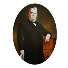 William McKinley Christmas Ornament