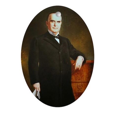 William McKinley Christmas Ornament