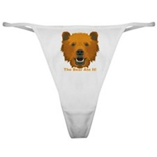 The Bear Ate It! Classic Thong