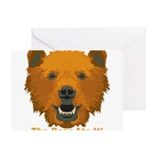 The Bear Ate It! Greeting Card