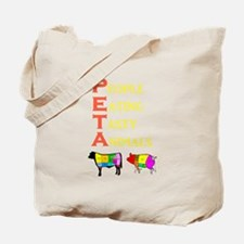 Cute Meat Tote Bag
