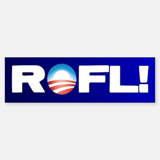 Obama ROFL! Bumper Bumper Stickers