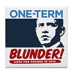 One-Term BLUNDER! Tile Coaster