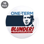 """One-Term BLUNDER! 3.5"""" Button (10 pack)"""